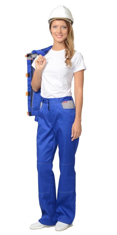 Костюм рабочий летний женский «Фаворит» синий