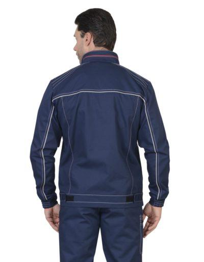 Куртка рабочая летняя мужская 46-76 темно-синяя
