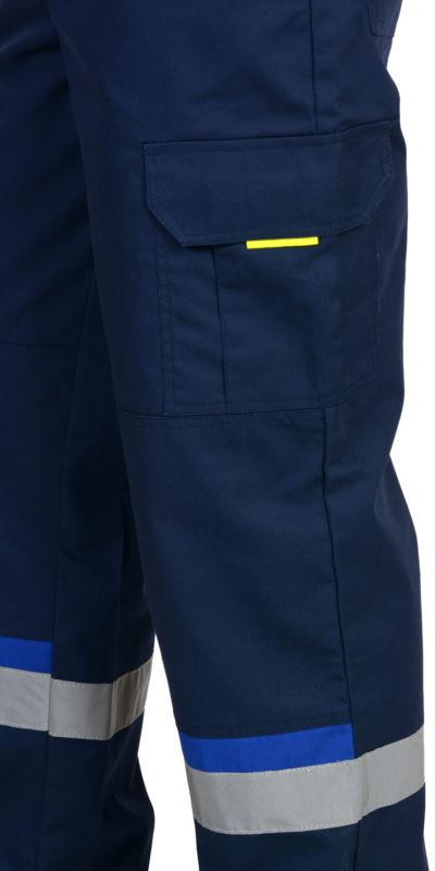 Брюки рабочие летние мужские 920 с боковыми карманами и наколенниками