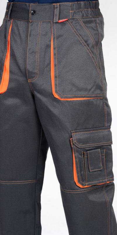 Брюки рабочие летние мужские 996 с боковыми карманами темно-серые
