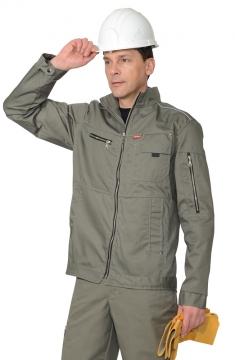 Куртка рабочая летняя мужская 016 серая