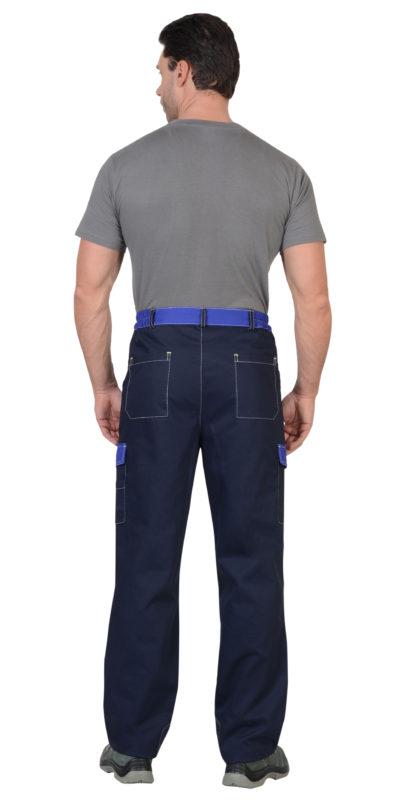 Брюки рабочие летние мужские 297 с боковыми карманами и наколенниками