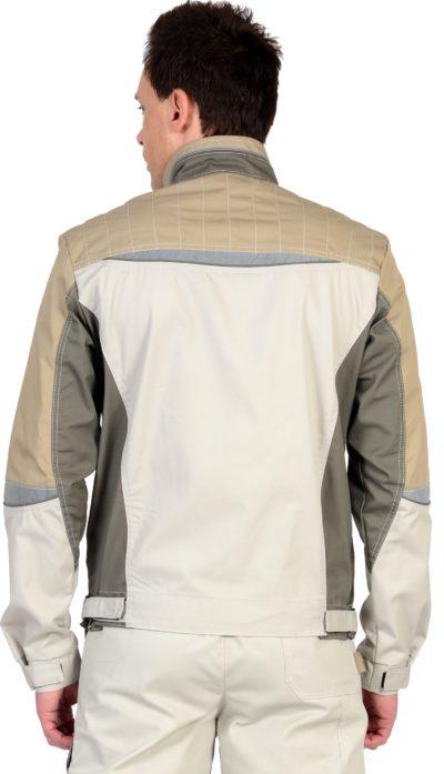 Куртка рабочая летняя мужская 018 светло-серая