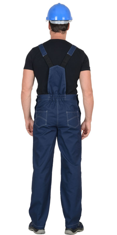 Полукомбинезон рабочий летний мужской 933 синий