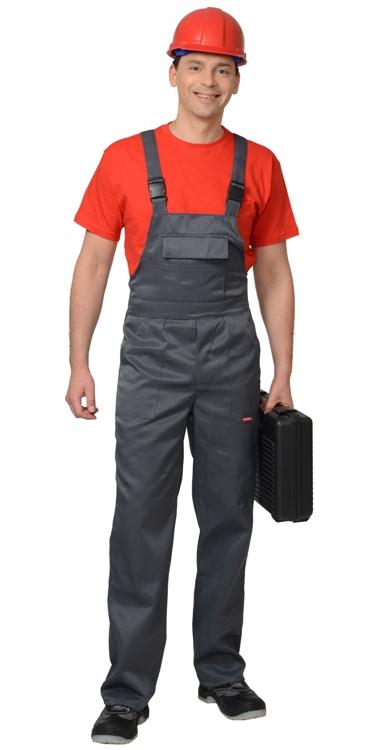 Полукомбинезон рабочий летний мужской 934 васильковый