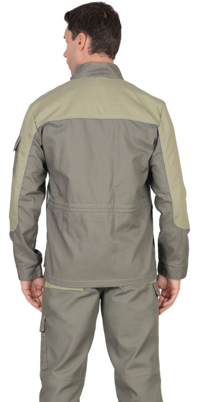 Куртка рабочая летняя мужская 015 бежевая