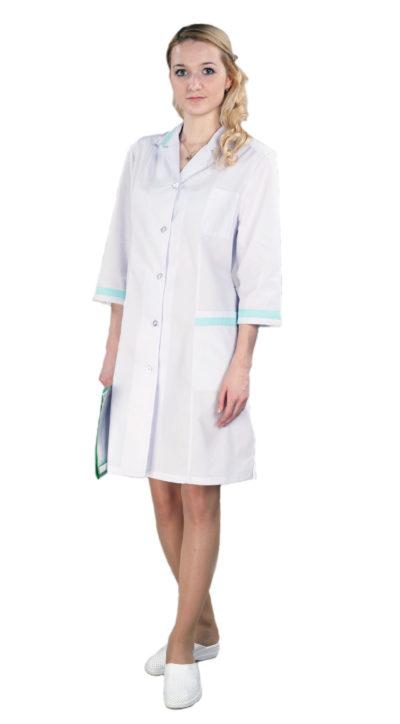 Халат медицинский женский Н025-25