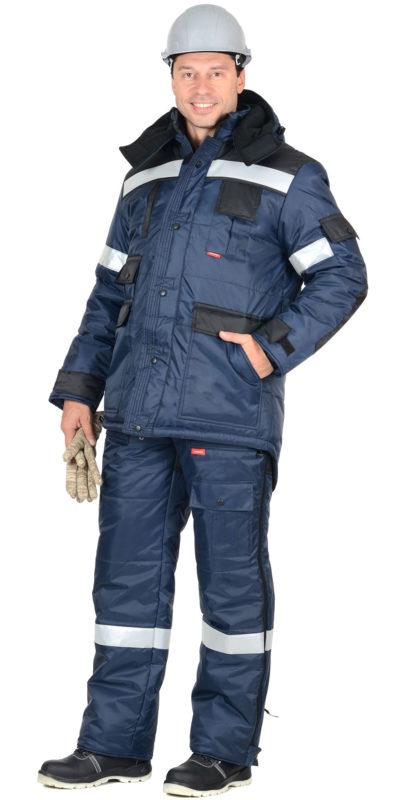 Костюм рабочий зимний с полукомбинезоном «Беркут»