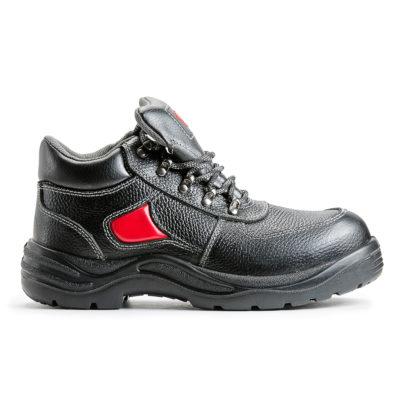 Ботинки кожаные летние «Элиты», ПУ/Нитрил, металлподносок