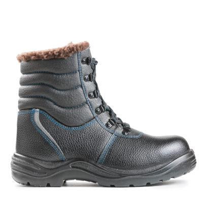 Ботинки резиновые зимние с подноском термопласт