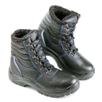 Ботинки ПУ зимние с металлподноском