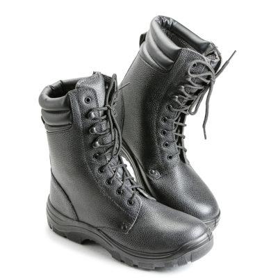 Ботинки рабочие зимние ПУ/Нитрил с металлдноском