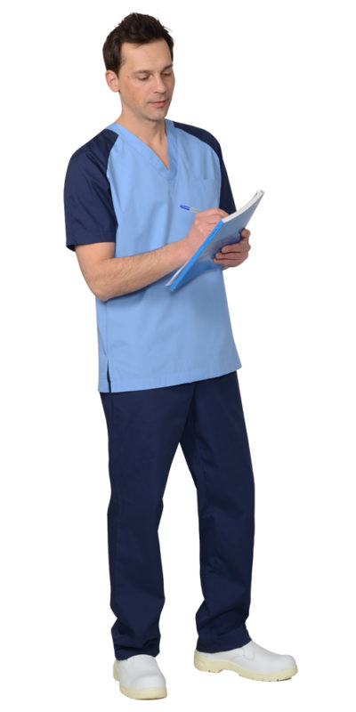 Костюм медицинский мужской Л021-21