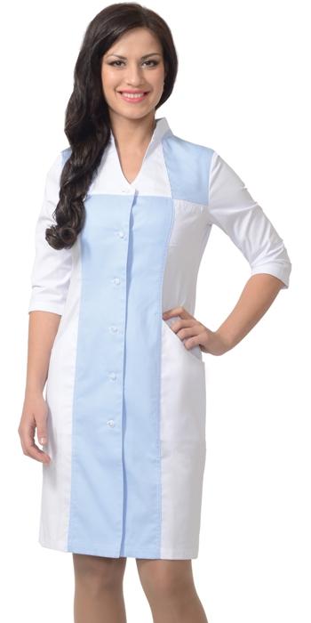 Халат медицинский женский Н015-15