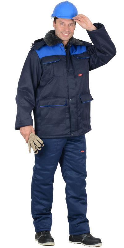Костюм рабочий зимний с полукомбинезоном 129