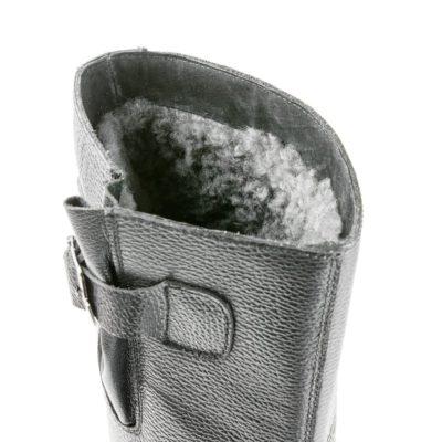 Сапоги ПУ/Нитрил зимние натуральный мех