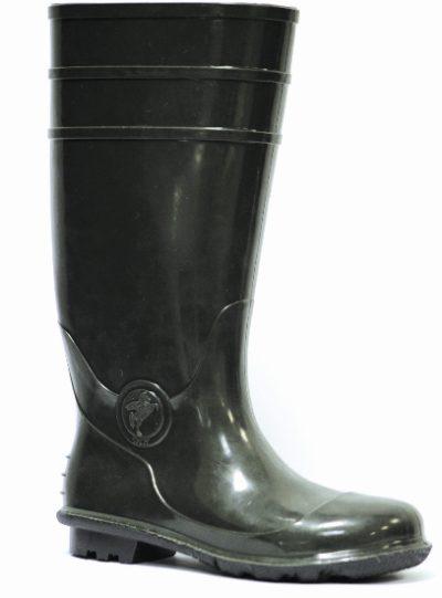 Сапоги ПВХ с металлподноском, 34 см.