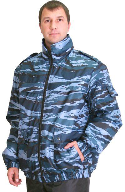 Куртка охранника зимняя мужская камуфляж 02-55