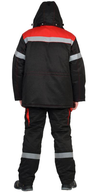 Костюм рабочий зимний с полукомбинезоном 322