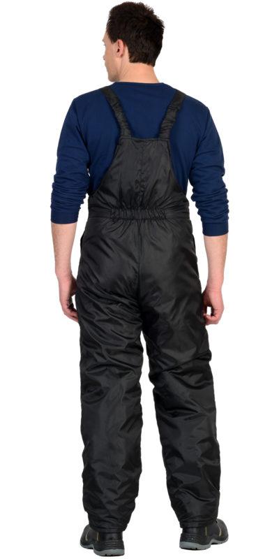 Полукомбинезон зимний универсальный черный