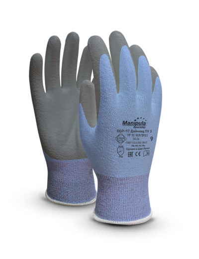 Перчатки защитные ДАЙМОНД ПУ-3 DDP-97
