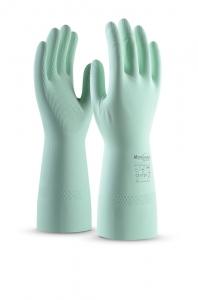 Перчатки защитные латексные КОНТАКТ L-F-02