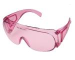 Очки защитные специализированные О22 LASER super (PC) розовые
