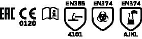 Перчатки защитные нитриловые ДИЗЕЛЬ N-F-06