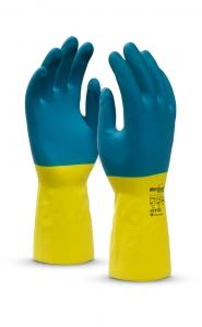 Перчатки защитные латекс/неопрен СОЮЗ LN-F-05