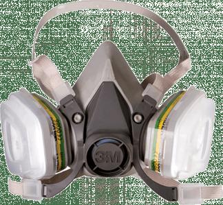 Полумаска фильтрующая серии 3М™ 6000 (6300)
