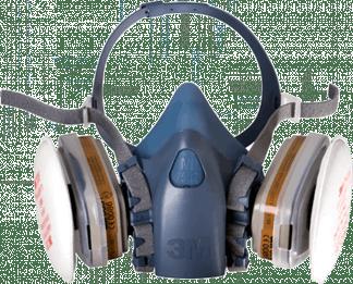 Полумаска фильтрующая серии 3М™ 7500 (7502)