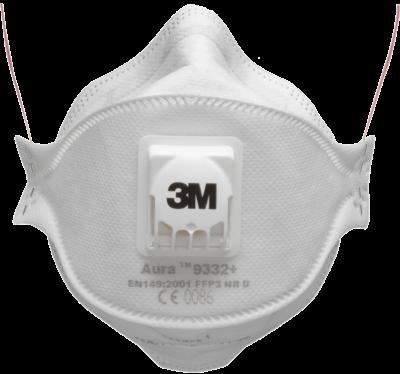 Респиратор 3М™ 9332 + Aura™