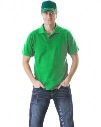 Рубашка-поло светло-зеленая