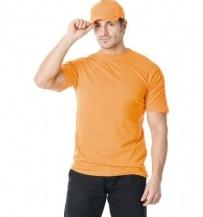 Футболка трикотажная оранжевая