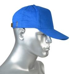 Кепка-бейсболка голубая