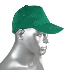 Кепка-бейсболка зеленая