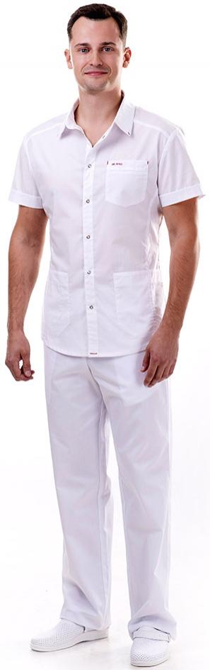 Блуза медицинская мужская ЛУ35