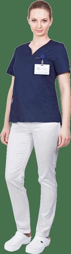 Блуза медицинская ЛУ30