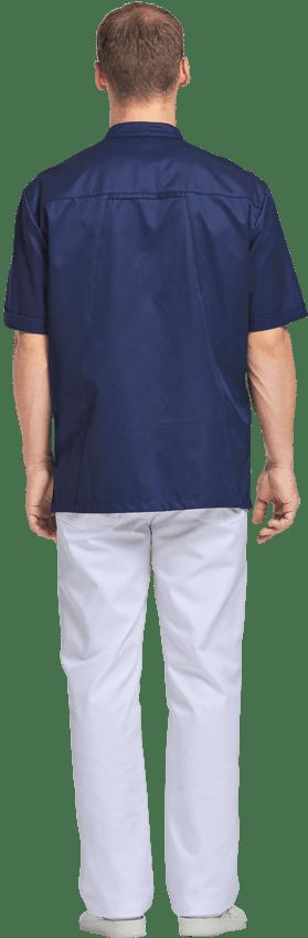 Блуза медицинская мужская ЛУ36