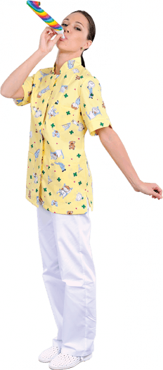 Блуза медицинская ЛУ24