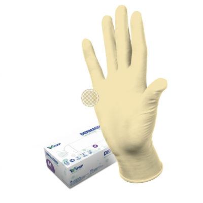 Перчатки смотровые нестерильные латексные DERMAGRIP® Classic
