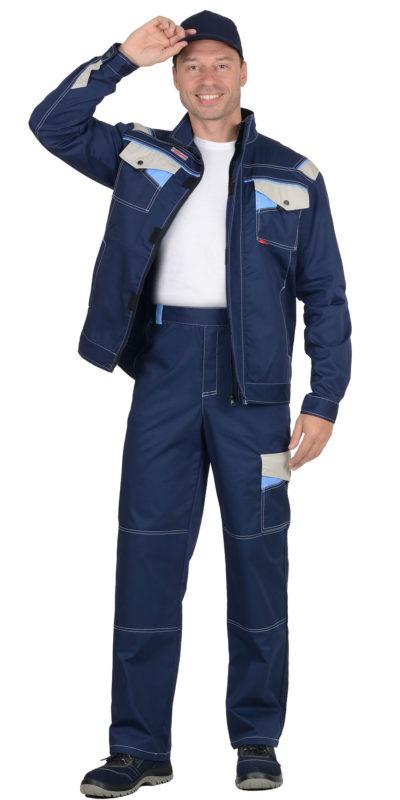 Костюм рабочий летний мужской с брюками