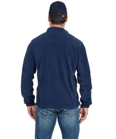 Куртка флисовая синяя