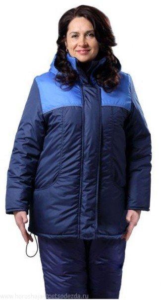 Куртка женская зимняя «Снежинка»