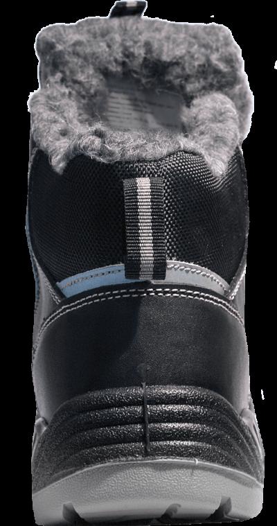 Ботинки ПУ/Нитрил рабочие на меху
