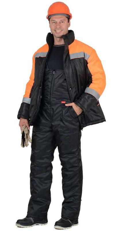 Костюм зимний «Спецмонтаж» мужской с полукомбинезоном