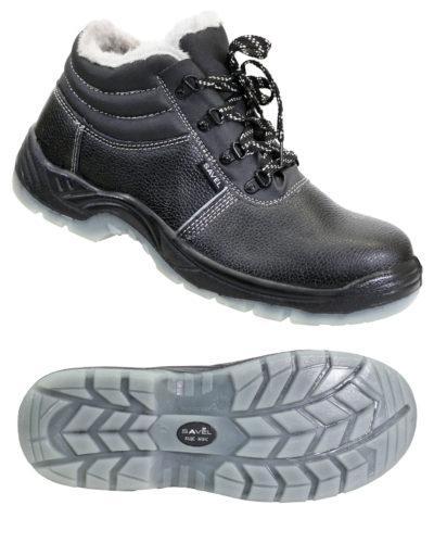 Ботинки рабочие утепленные «Профи люкс»