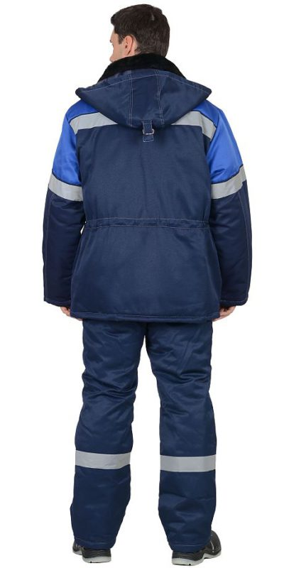 Костюм мужской «Легионер» зимний куртка с полукомбинезоном