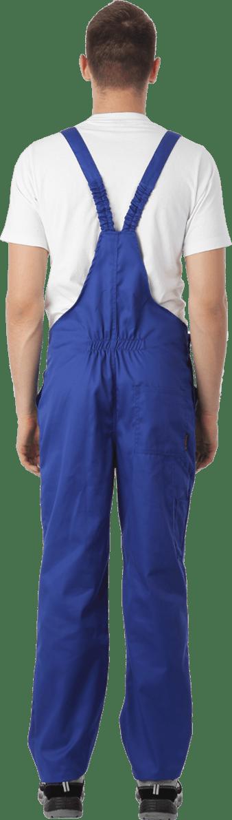 Костюм мужской летний с полукомбинезоном «Специалист» васильковый/синий