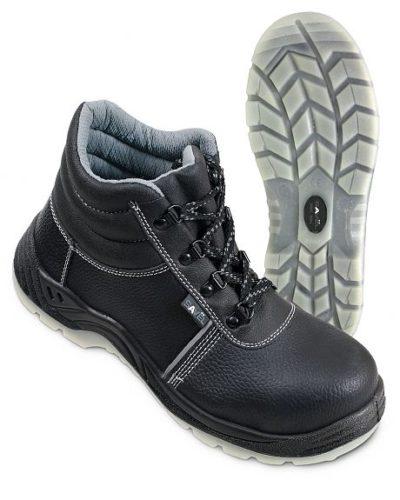 Ботинки кожаные «Профи Люкс», ПУ/ТПУ с подноском